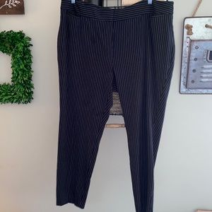 The Limited pinstripe work pants Plus 18w ankle